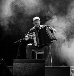 Musician Mario Batkovic at ICRD 2017