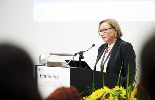 Esther Turnhout, Keynote speaker - Science-policy partnerships for transformation